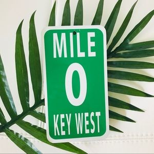 Other - Key West Mile 0 Sign